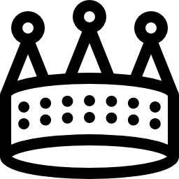 王の王冠概要無料アイコン