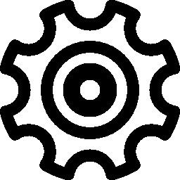 歯車機械部品概要無料アイコン