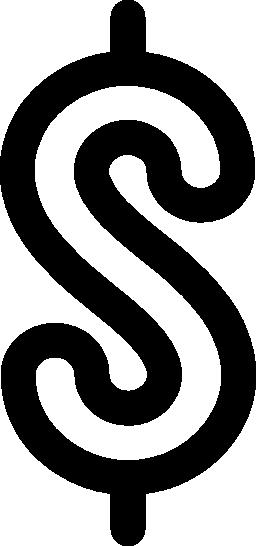 ドル記号説明無料のアイコン