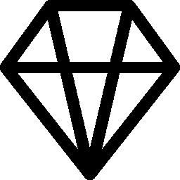 ダイヤモンド形の無料アイコン