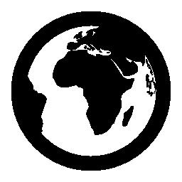 地球惑星地球の無料アイコン