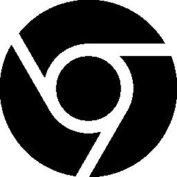 クロームのロゴの無料アイコン