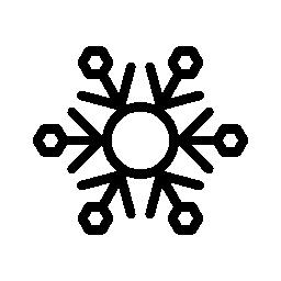 雪無料アイコンから成っているフレーク