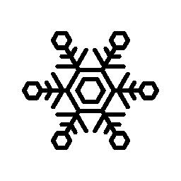 冬はフレーク、バリアント無料アイコン