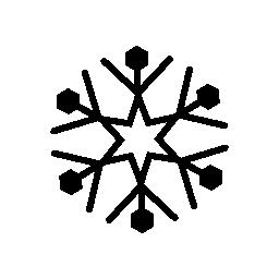 雪の結晶の無料のアイコン