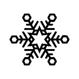 冬のシーズン スノーフレーク無料アイコン