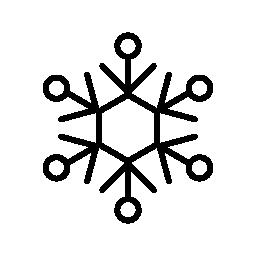 冬氷結晶バリアント無料アイコン