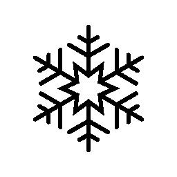 6 指摘星スノーフレーク無料アイコン