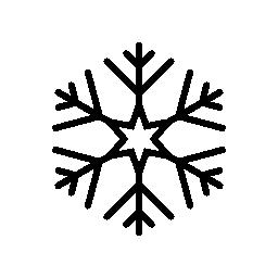 氷雪フレーク無料アイコン