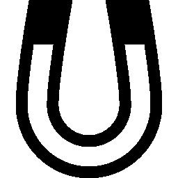 U 字型マグネット概要無料アイコン