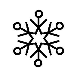 氷薄片水晶無料アイコン