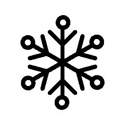 雪ライン バリアント無料アイコン