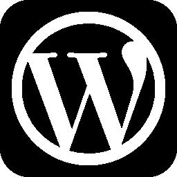 ワードプレスのウェブサイトのロゴ無料アイコン