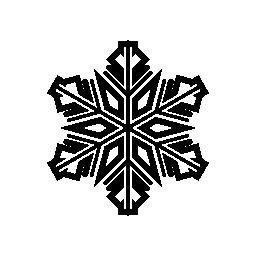 スノーフレーク詳細なバリアント無料アイコン