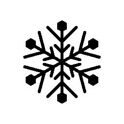 スノーフレークの複雑なデザイン無料のアイコン