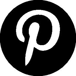 Pinterest ロゴ円無料アイコン