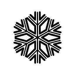 美しく、複雑なデザイン無料のアイコンのスノーフレーク