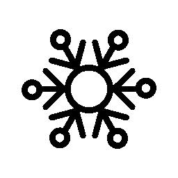 スノーフレーク デザイン無料のアイコン