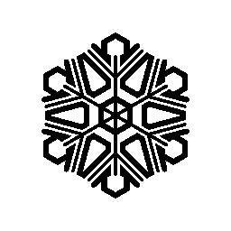 スノーフレーク スター無料アイコンで複雑な設計