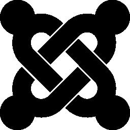 Joomla のロゴの無料アイコン