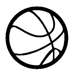 バスケット ボール無料アイコン