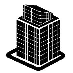 背の高い建物の構造の無料のアイコン