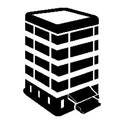 3次元建物無料のアイコンを表示します。