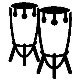 ティンパニ ドラム無料アイコン