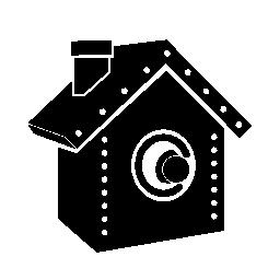 鳥の無料のアイコンの家