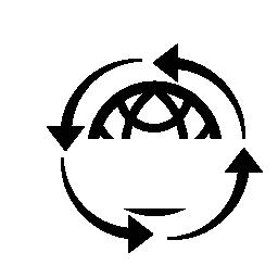 グローバルなリサイクル シンボル無料アイコン