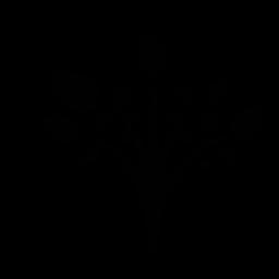 木の枝の無料アイコンを葉