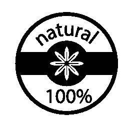 100% 自然なバッジの無料アイコン