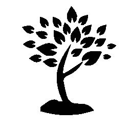 多くの木の葉を無料のアイコン