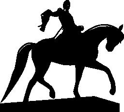 コロンビア フリー アイコンでボリバルの像