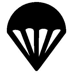 パラシュート無料アイコン