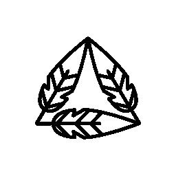 三角形の無料アイコンを形成羽概要