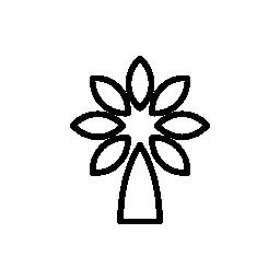 植物花概要無料アイコン