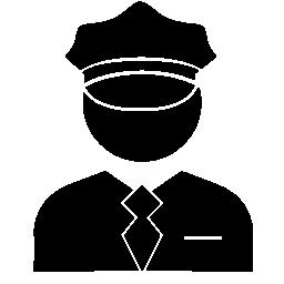 警官無料アイコン