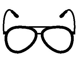 メガネ ビジョン ツール無料アイコン