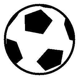サッカー ボール無料アイコン