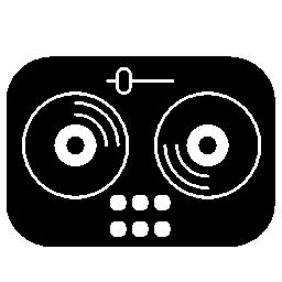 ヴィンテージ音楽プレーヤー無料アイコン