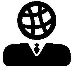 無料アイコンの国際的なビジネスマンのための戦略