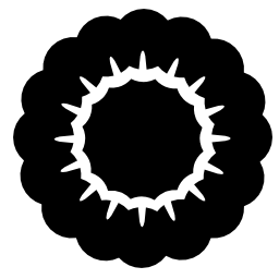 花びらの無料アイコンの多くの花の形