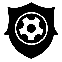 フットボールのバッジの無料のアイコン