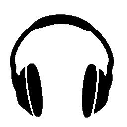 ヘッドフォンの無料アイコン