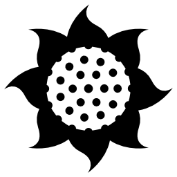 花の美しい形の無料アイコン