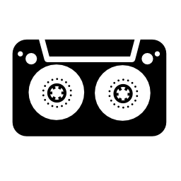 音楽テープ無料アイコン