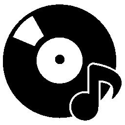 音楽アルバム無料アイコン