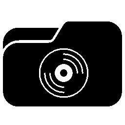 音楽フォルダー選択コレクション組織無料アイコン