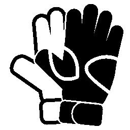 ラグビー手袋無料アイコン